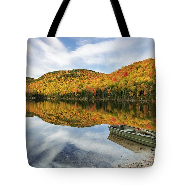 Upper Hall Pond - Sandwich New Hampshire Tote Bag