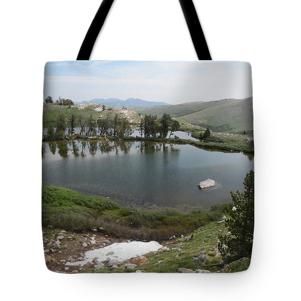 Upper Hidden Lake Tote Bag by Jenessa Rahn