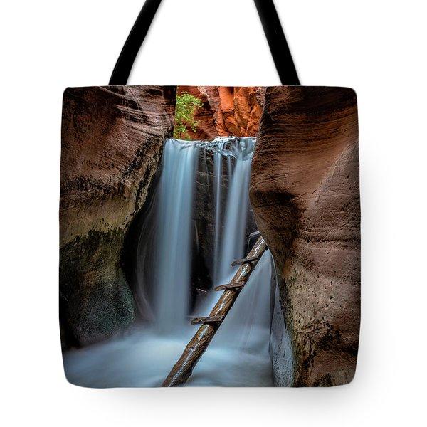 Upper Kanarraville Falls Tote Bag