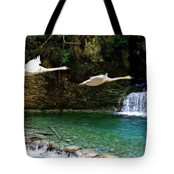 Upper Margaret Falls Tote Bag
