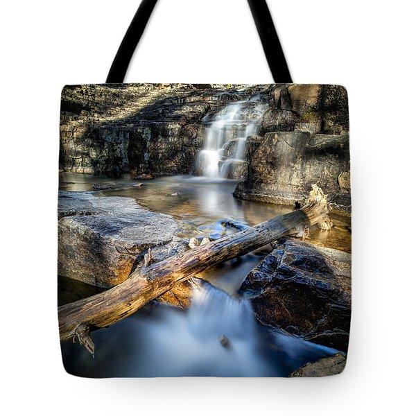Upper Provo River Falls Tote Bag