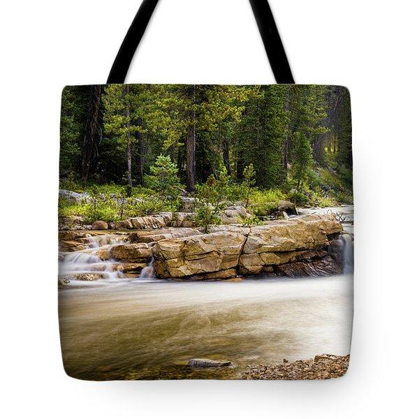 Upper Provo River - Fishing Hole Tote Bag