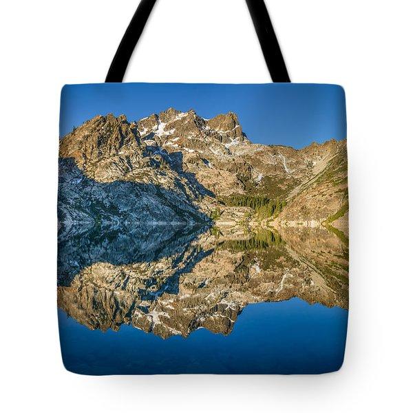 Upper Sardine Lake Panorama Tote Bag