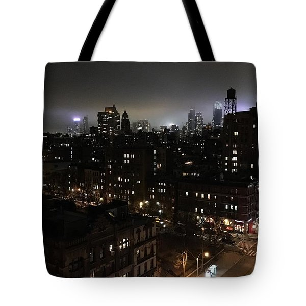 Tote Bag featuring the photograph Upper West Side by JoAnn Lense