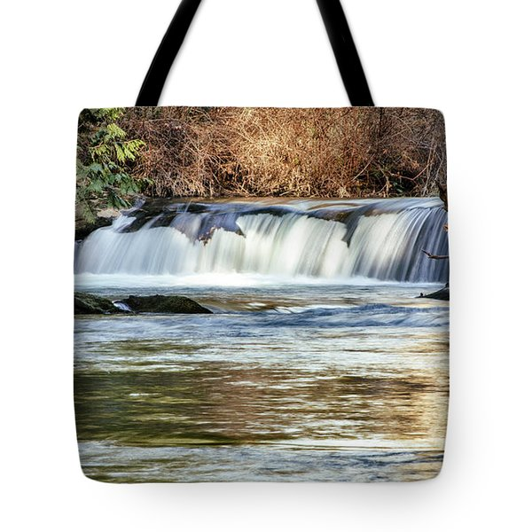 Upper Whatcom Falls Tote Bag