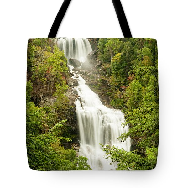 Upper Whitewater Falls Tote Bag