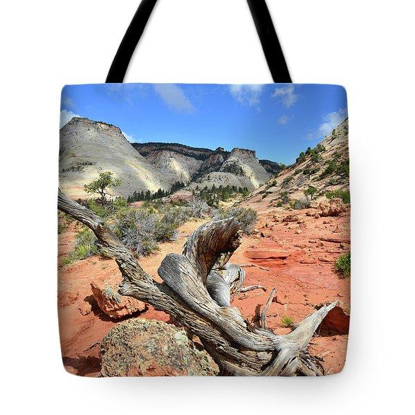 Upper Zion Tote Bag