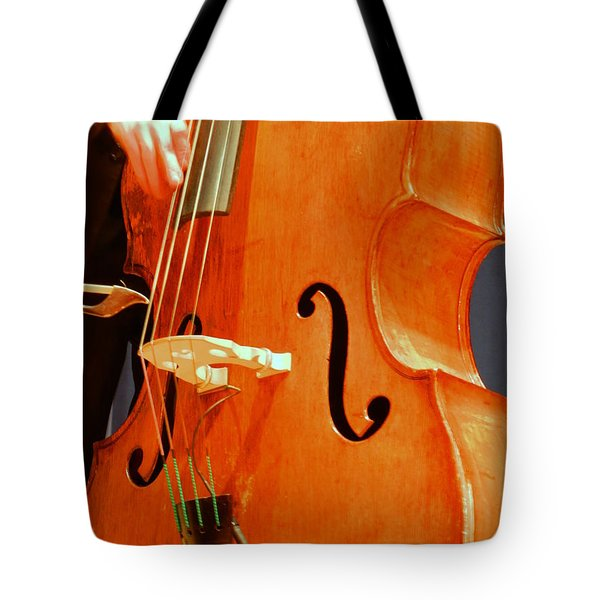 Upright Bass 3 Tote Bag