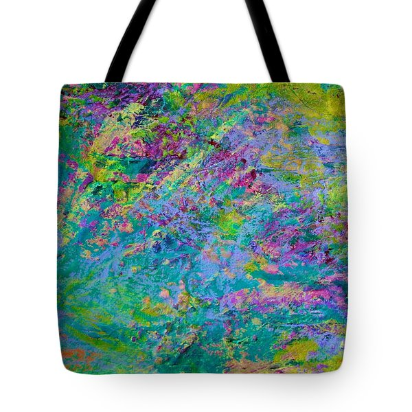 Uprising Color Poem Tote Bag