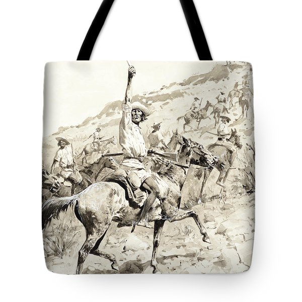 Uprising Of The Yaqui Indians Tote Bag