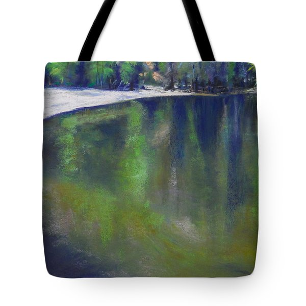 Upriver View Tote Bag