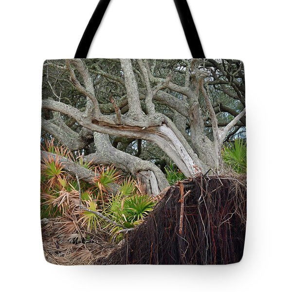 Uprooted Tote Bag by Bruce Gourley