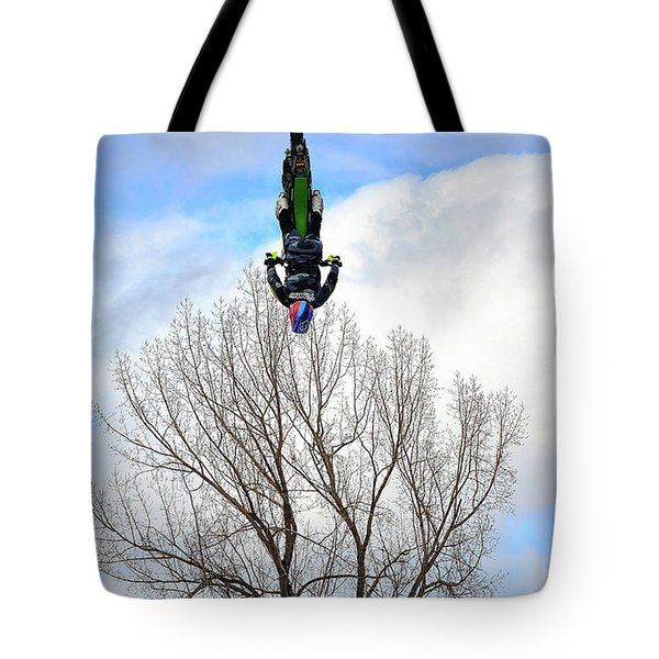 Tote Bag featuring the photograph Upside Down And All Around by Barbara Dudley