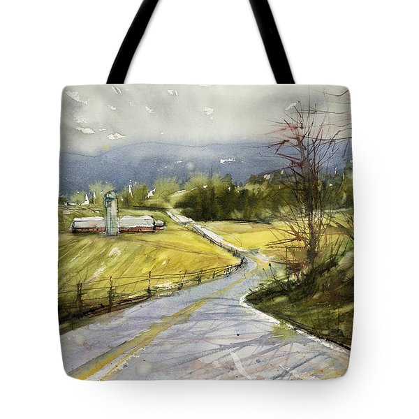 Upstate Landscape Tote Bag by Judith Levins