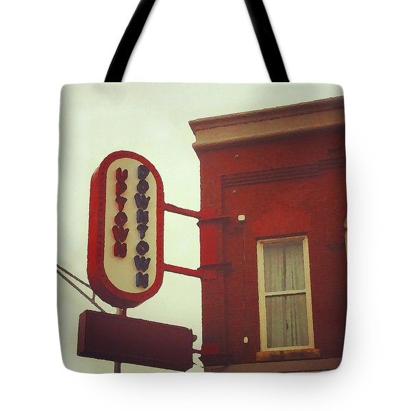 Uptown Downtown  Tote Bag