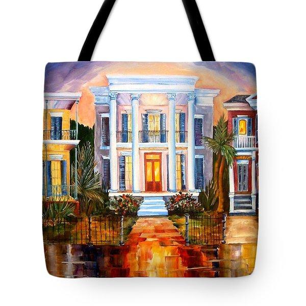 Uptown Tonight Tote Bag by Diane Millsap