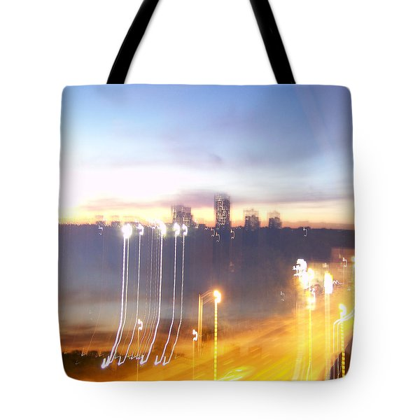 Uptown Toronto - Friday Night Tote Bag by Serge Averbukh