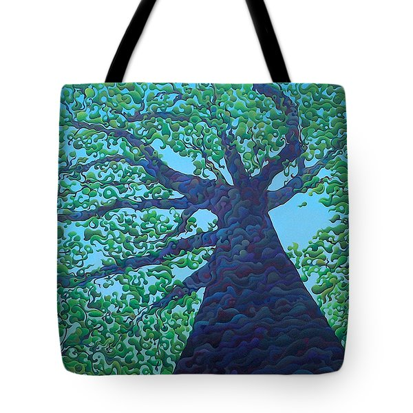 Upward Treejectory Tote Bag