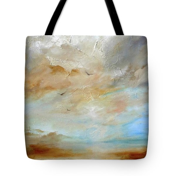 Upwardly Mobile Tote Bag by Dina Dargo