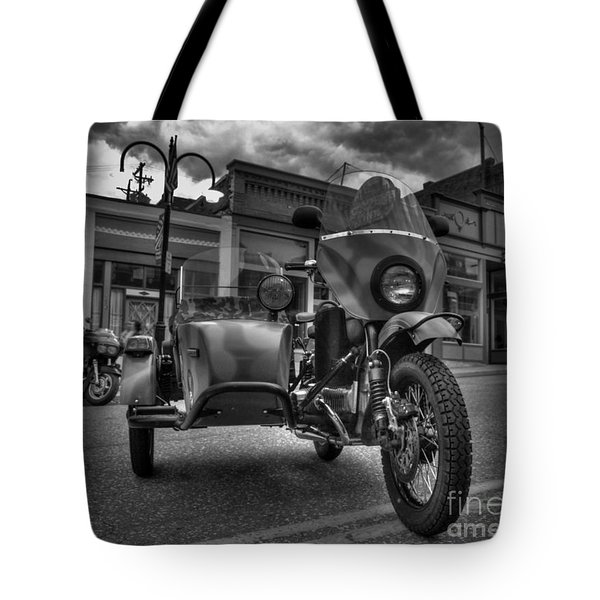 Tote Bag featuring the photograph Ural - Bw by Tony Baca