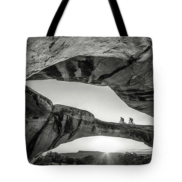 Uranium Arch Tote Bag