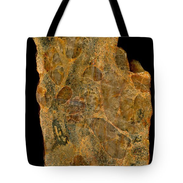 Uranium Ore Conglomerate Tote Bag by Ted Kinsman