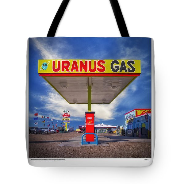 Uranus Gas Tote Bag by Gary Warnimont