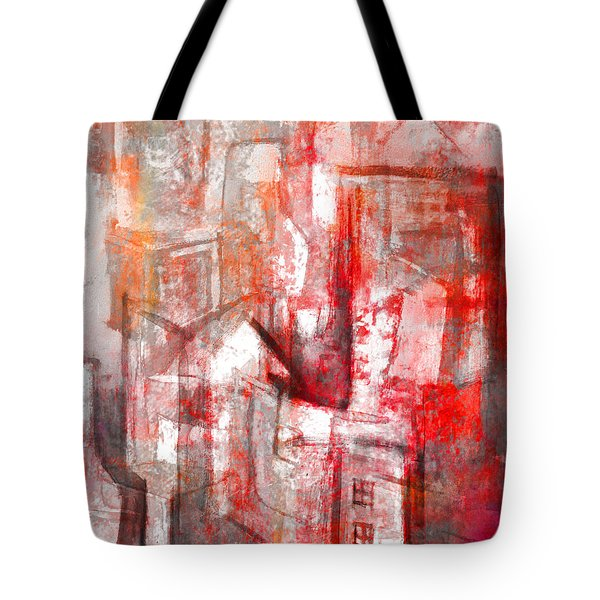 Urban #10 Tote Bag by Kim Gauge