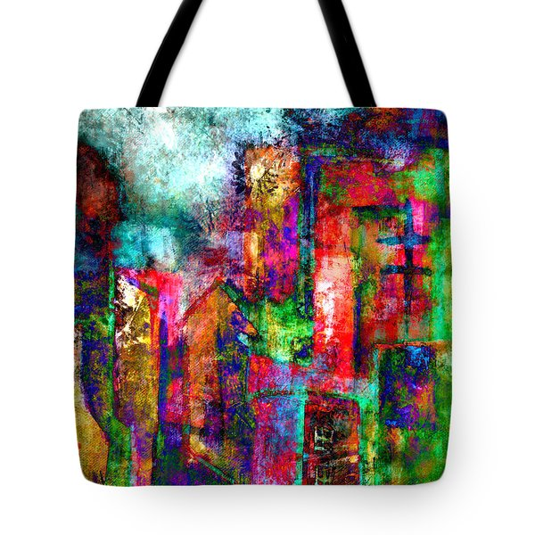 Urban #8 Tote Bag by Kim Gauge