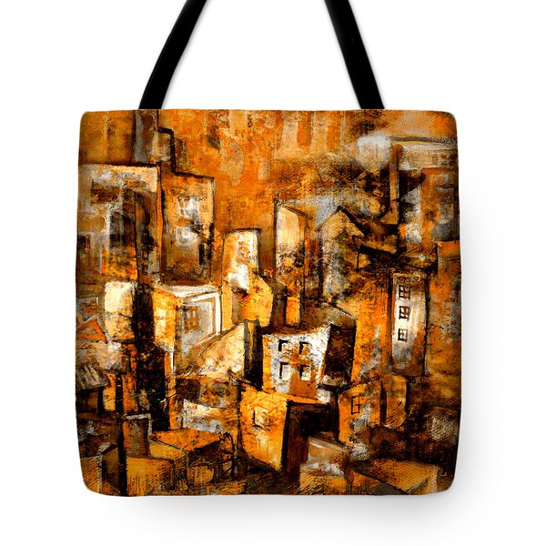 Urban Abstract #1 Tote Bag