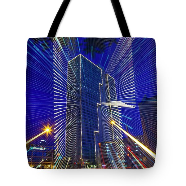 Urban Abstract Tote Bag