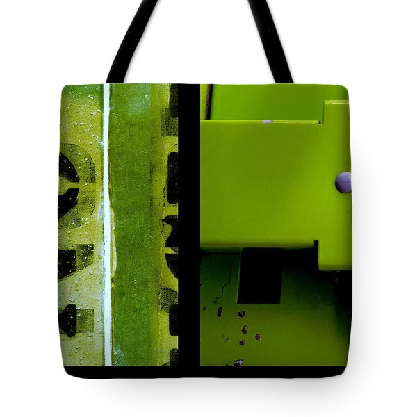Urban Abstracts Seeing Double 40 Tote Bag