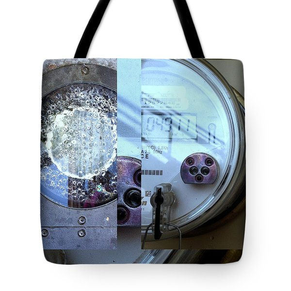 Urban Abstracts Seeing Double 58 Tote Bag
