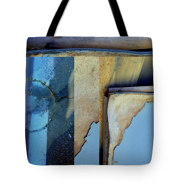 Urban Abstracts Seeing Double 62 Tote Bag