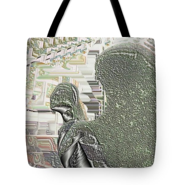 Urban Angel Tote Bag