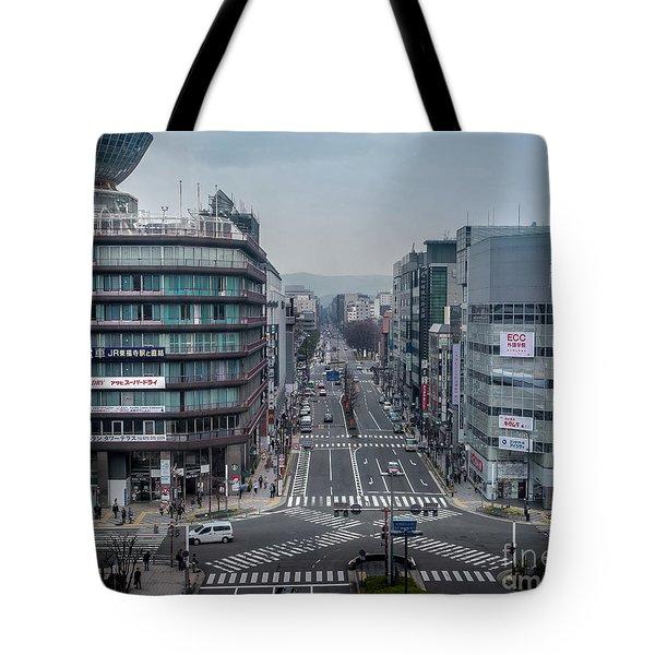 Urban Avenue, Kyoto Japan Tote Bag