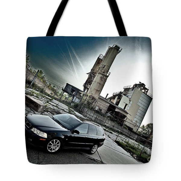 Urban Background Tote Bag