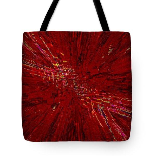 Urban Canyon Vertigo Tote Bag by Tim Allen