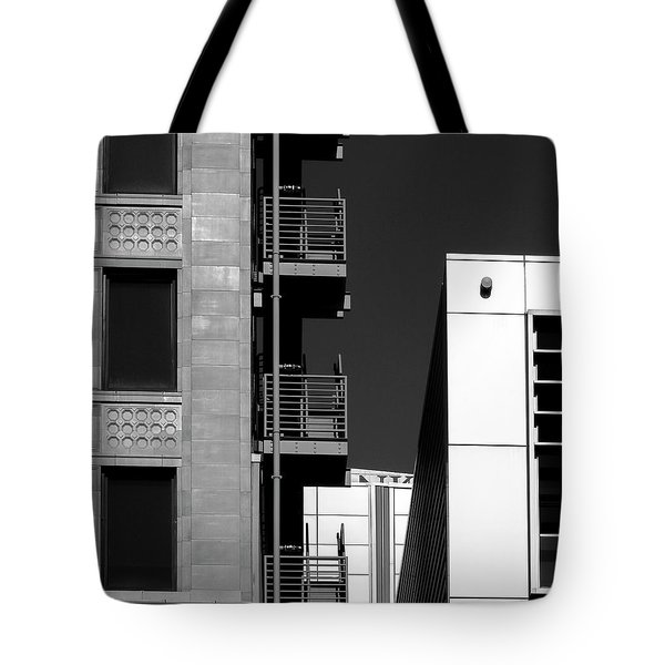 Urban Contrasts Tote Bag