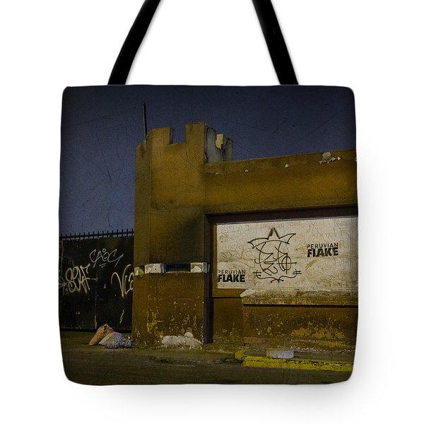 Urban Decay In Lima, Peru Tote Bag