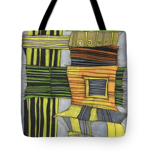 Urban Delight Tote Bag by Sandra Church