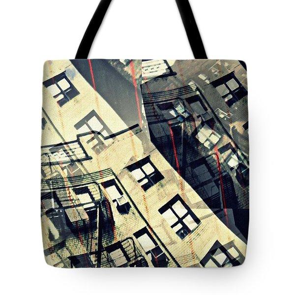 Urban Distress Tote Bag by Sarah Loft