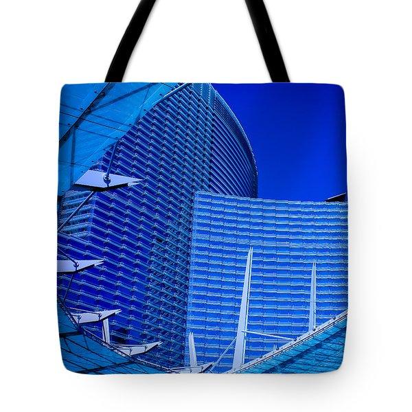 Urban Dusk Tote Bag by Bobby Villapando