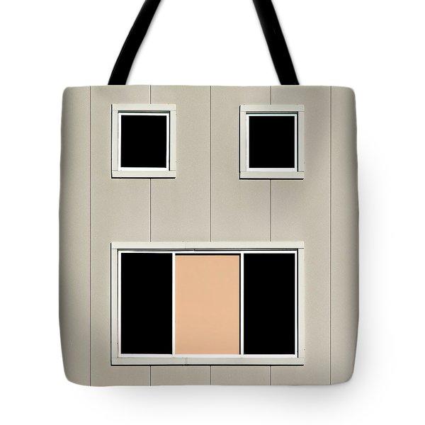 Urban Face Tote Bag