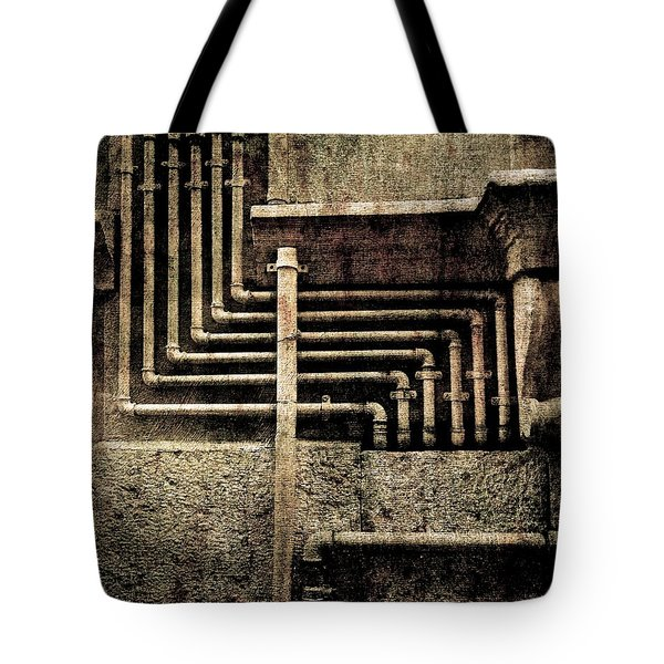 Urban Geometries Tote Bag