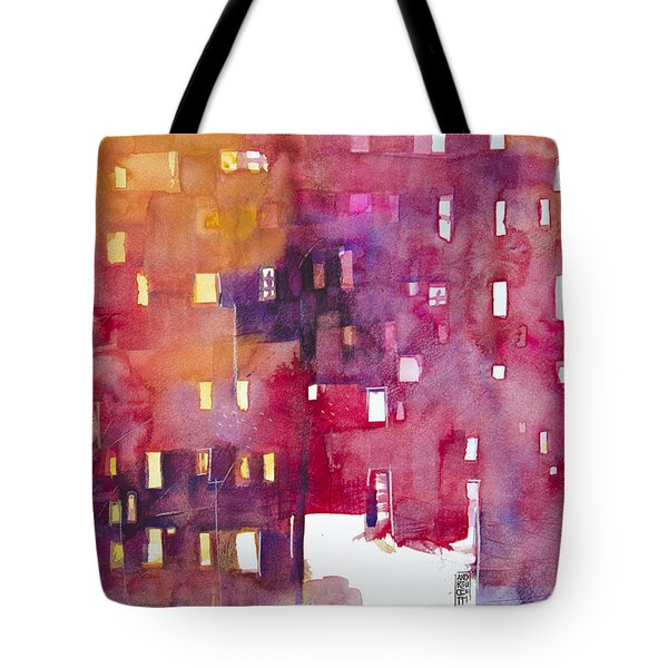 Urban Landscape 3 Tote Bag by Alessandro Andreuccetti