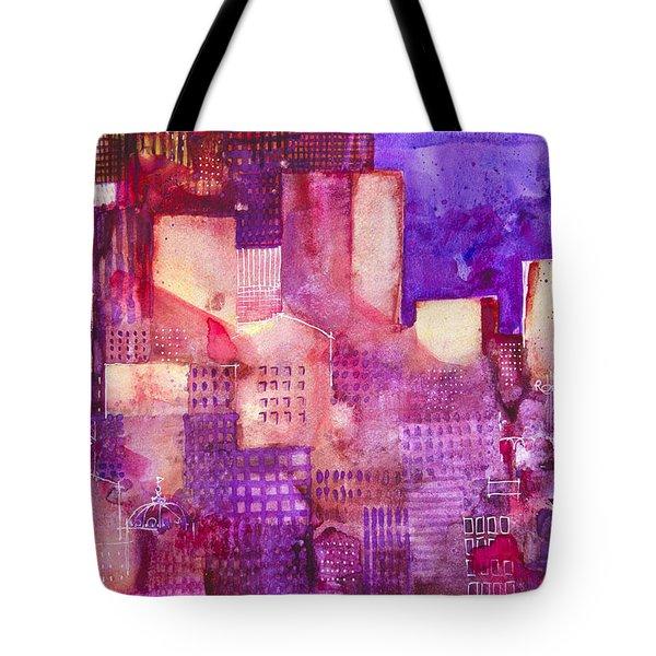 Urban Landscape 4 Tote Bag by Alessandro Andreuccetti