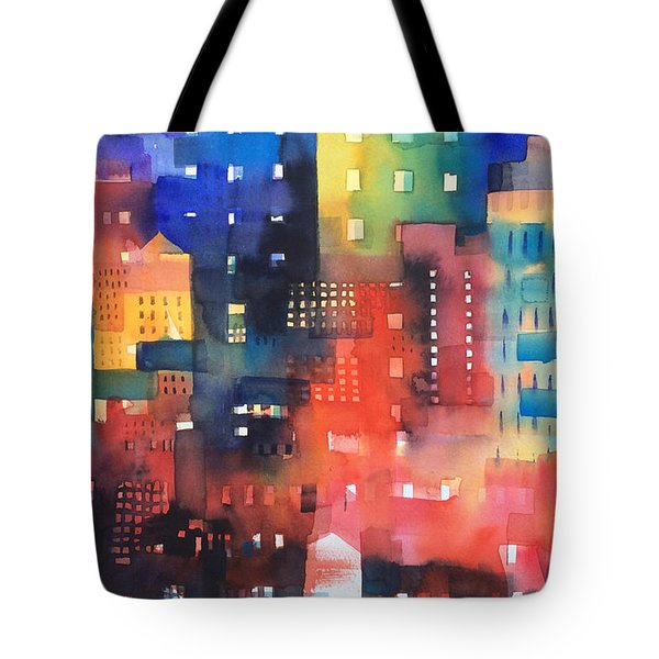 urban landscape 8 - Shadows and lights Tote Bag by Alessandro Andreuccetti