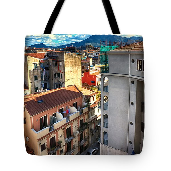 Urban Landscape In Palermo Tote Bag
