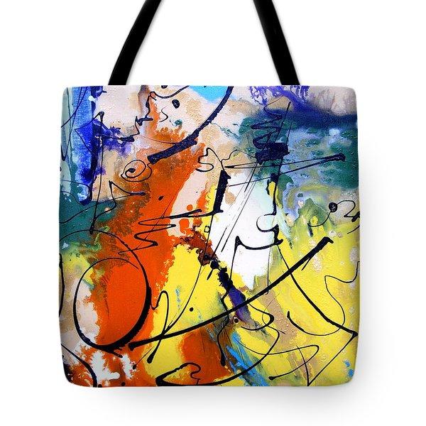 Urban Language Tote Bag